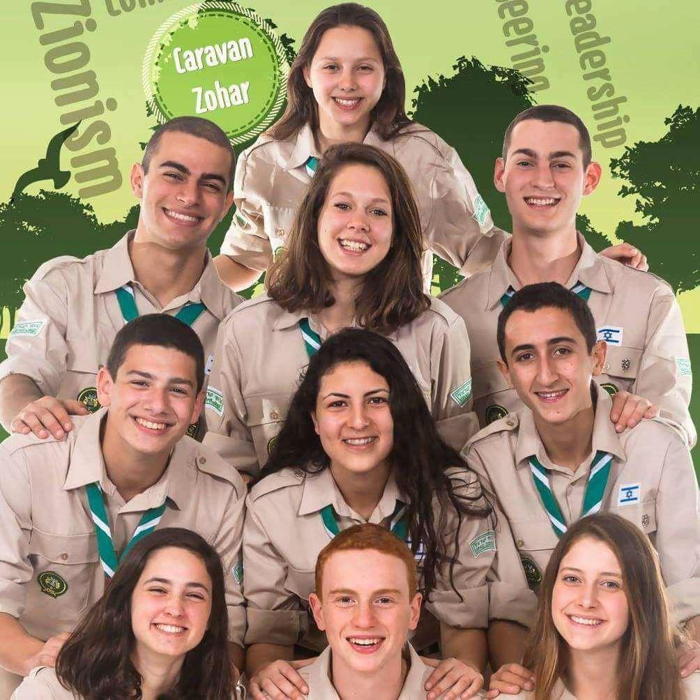 Israeli scouts 2017
