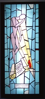 20 Third tall stained glass